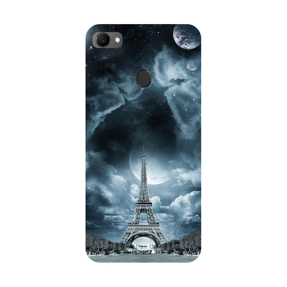 Blue Eiffel Oppo F7 Back Cover-Hamee India