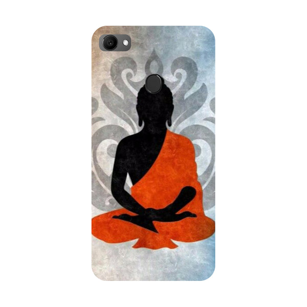 Yoga- Printed Hard Back Case Cover for Oppo F7