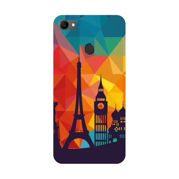 seven wonders- Printed Hard Back Case Cover for Oppo F7