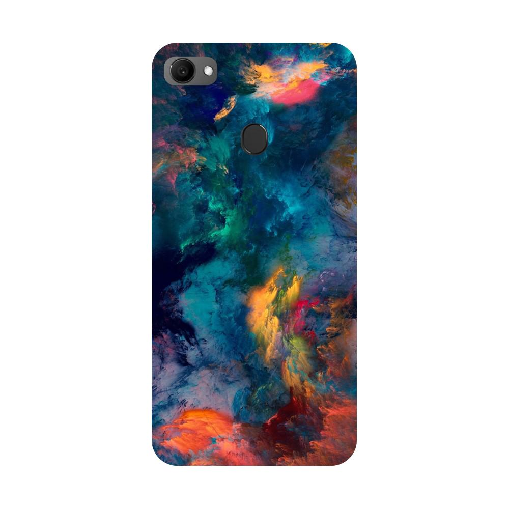 Abstract Fumes Oppo F7 Back Cover-Hamee India