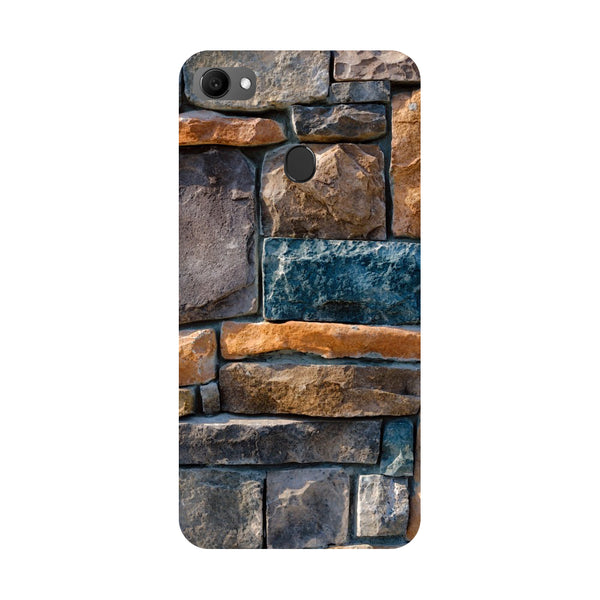 Stone Wall- Printed Hard Back Case Cover for Oppo F7