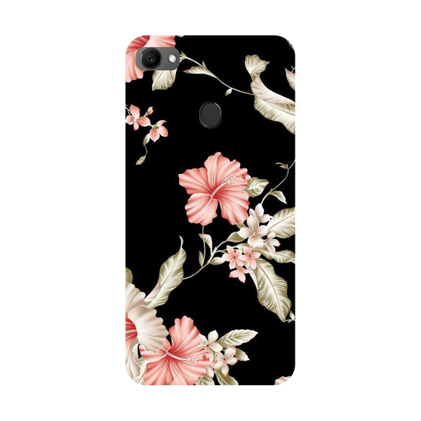 Flowers- Printed Hard Back Case Cover for Oppo F7