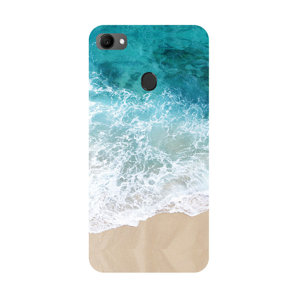 Sea- Printed Hard Back Case Cover for Oppo F7