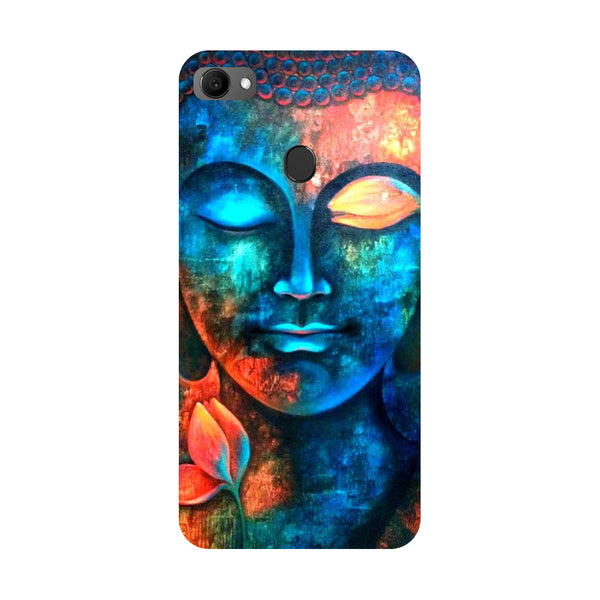 Buddha- Printed Hard Back Case Cover for Oppo F7