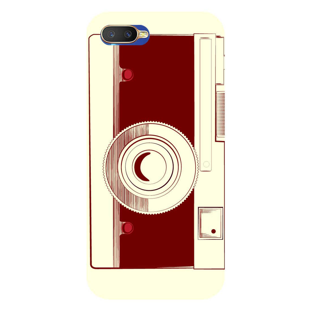best sneakers d39f7 52624 Camera Printed Hard Back Case Cover for Oppo K1 | Hamee India