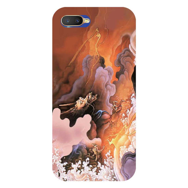 Dragon Oppo K1 Back Cover-Hamee India