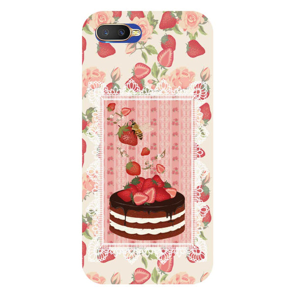 Cake Oppo K1 Back Cover-Hamee India
