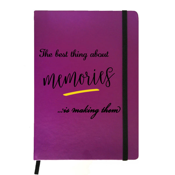 Memories - Purple Notebook-Hamee India