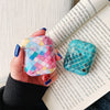 Hard Glossy Airpods Case - Multi Color-Hamee India