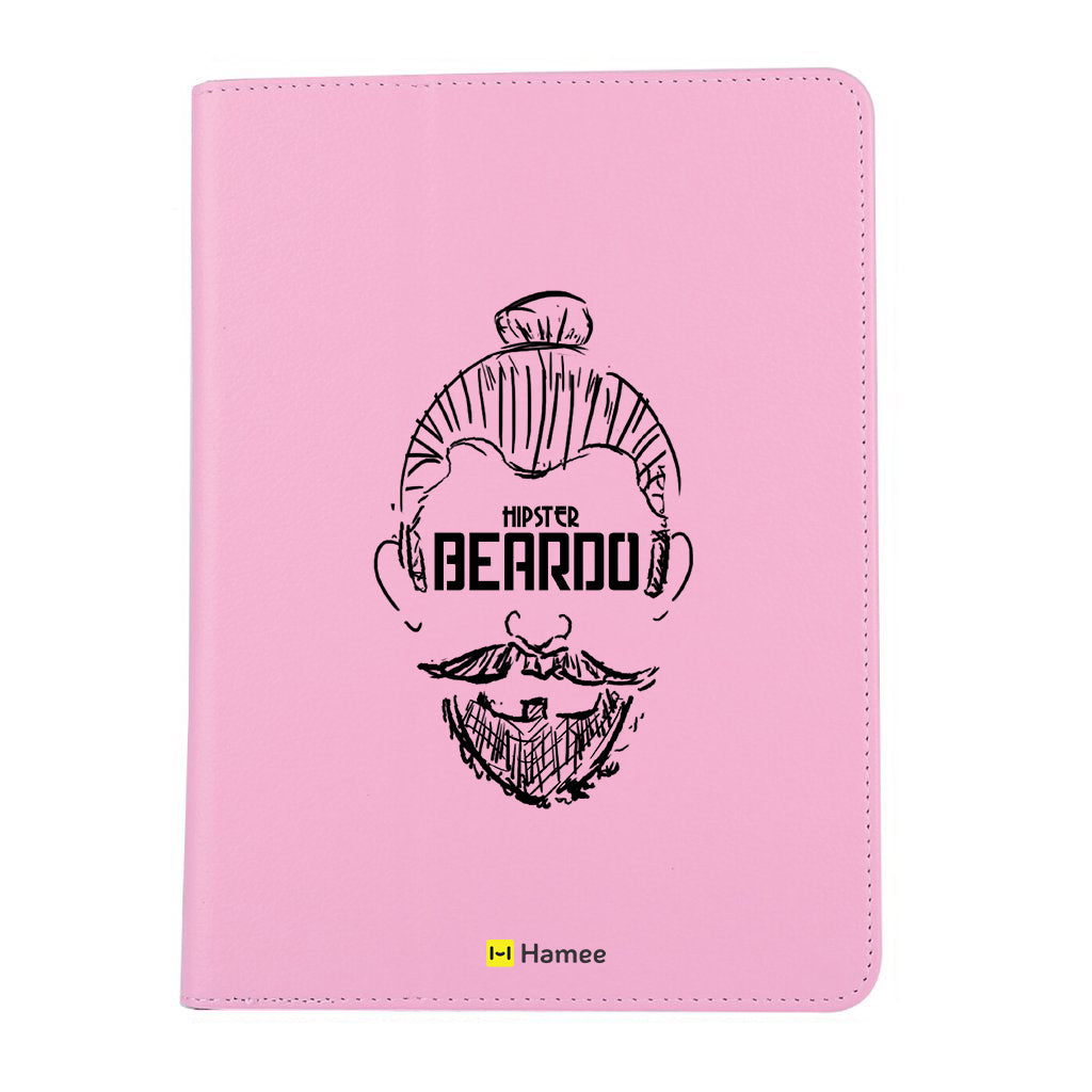 "Beardo - iPad 9.7"" Folio Case Stand (Pink)"