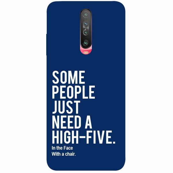 High Five Poco X2 Back Cover