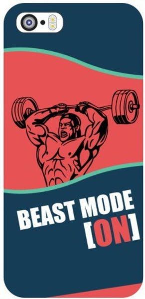 "Hamee Back Cover for Oppo F1 "" Beast Mode oN "" - Hamee India"