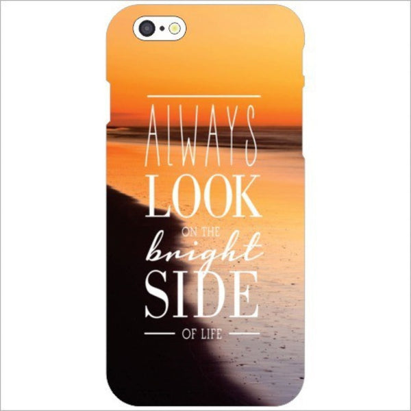 "Hamee Back Cover for Oppo F1s "" Always Loook On Bright Side "" - Hamee India"