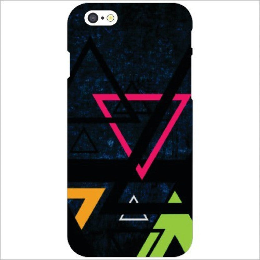 "Hamee Back Cover for iPhone 5 / 5S / SE / 5SE "" Triangles "" - Hamee India"