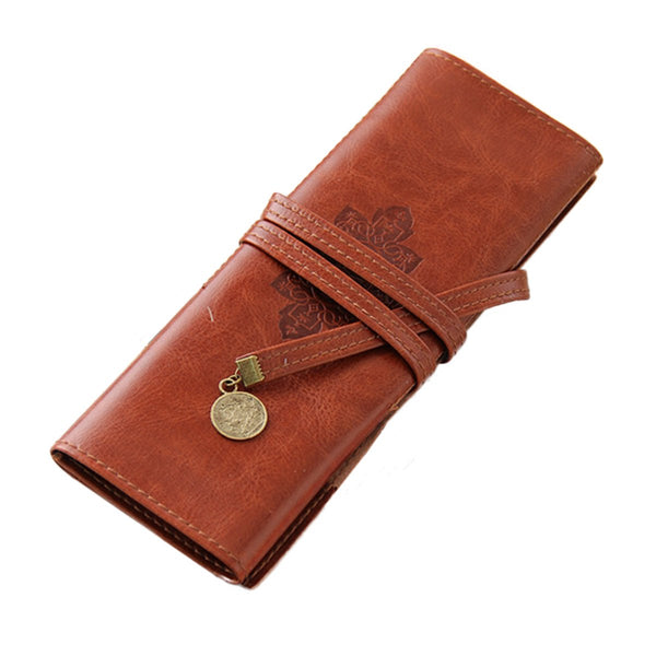 PU Leather Pencil Wrap Case-Hamee India