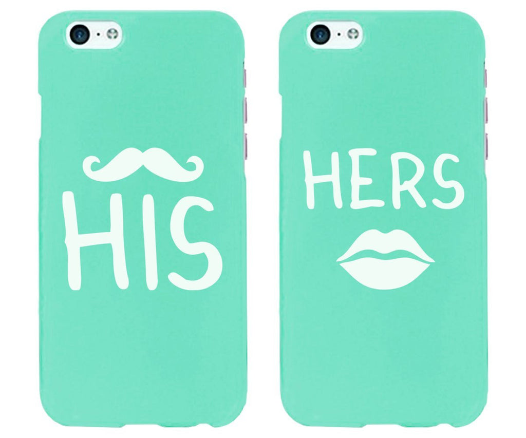 "Hamee Back Cover for VIVO V5 "" His & Hers Special Pack of Two Combo 28 "" - Hamee India"