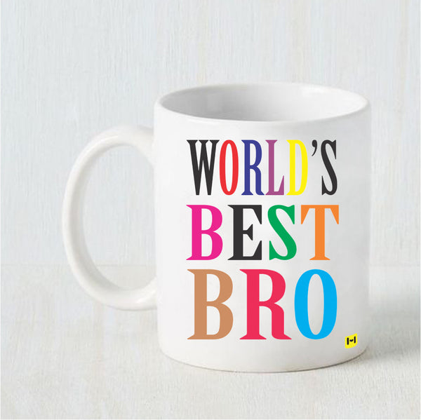 Best Brother 2 - Raksha Bandhan White Coffee Mug-Hamee India