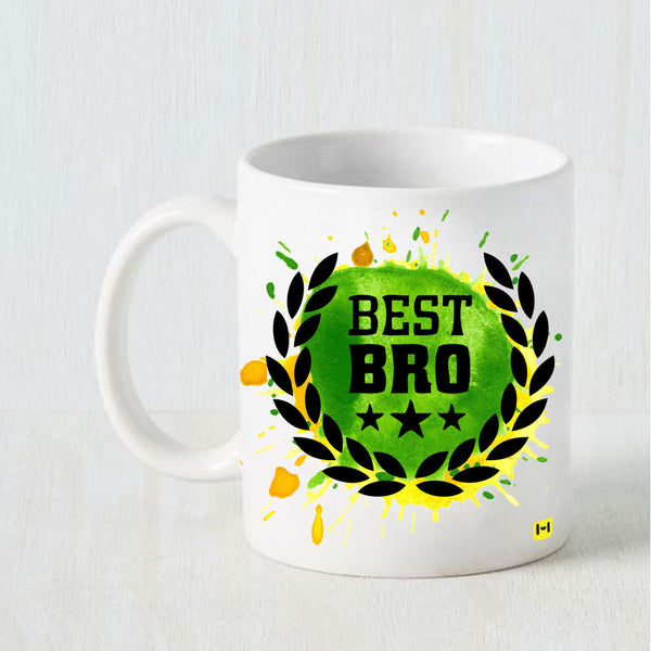 Best Bro - Raksha Bandhan White Coffee Mug-Hamee India