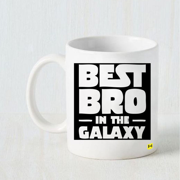 Best Bro in Universe - Raksha Bandhan White Coffee Mug-Hamee India