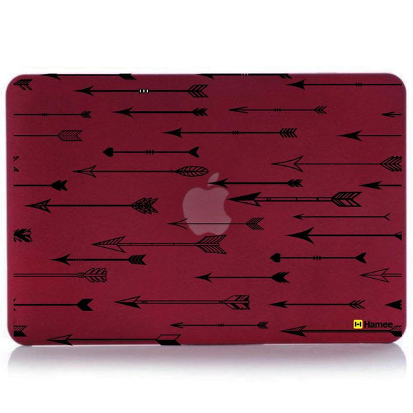 Arrows MacBook Pro 13 Cover Retina (2015) (A1502/A1425) (Wine Red)-Hamee India