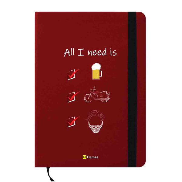 All I Need A6 Pocket Diary-Hamee India