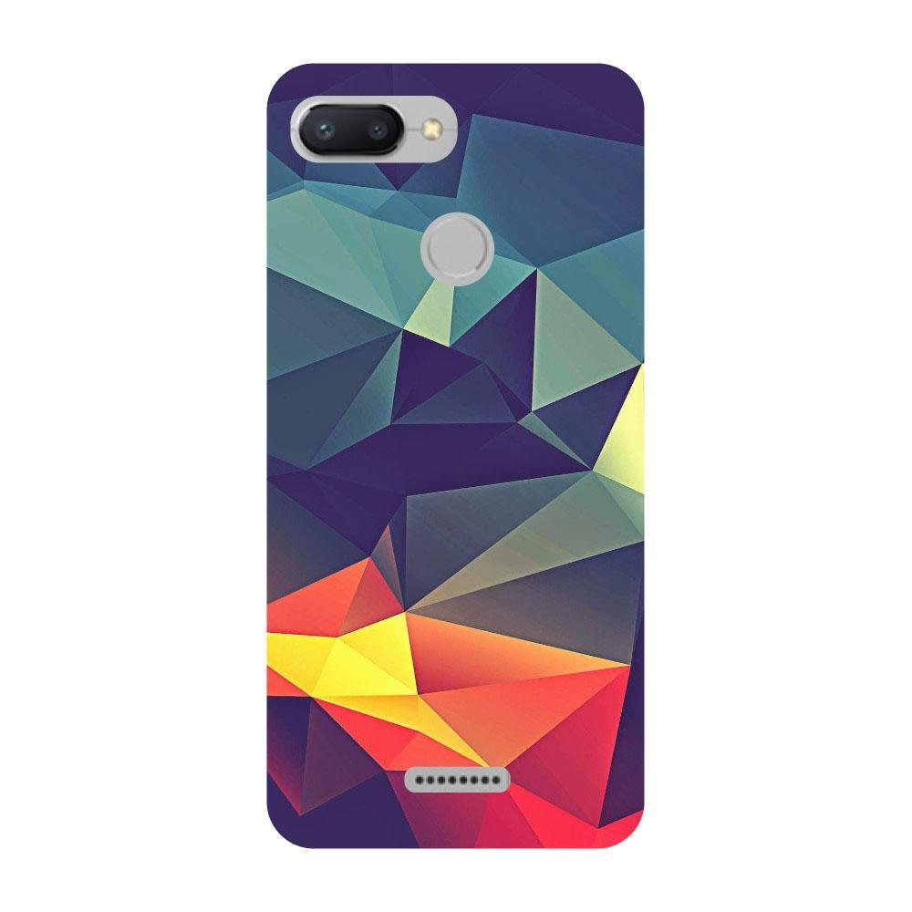official photos 2ff09 83c94 Abstract Redmi 3s Prime Back Cover