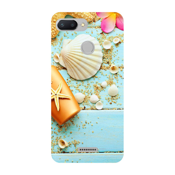 Shells Redmi 6 Back Cover-Hamee India