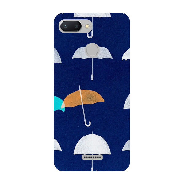 Umbrellas Redmi 6 Back Cover-Hamee India