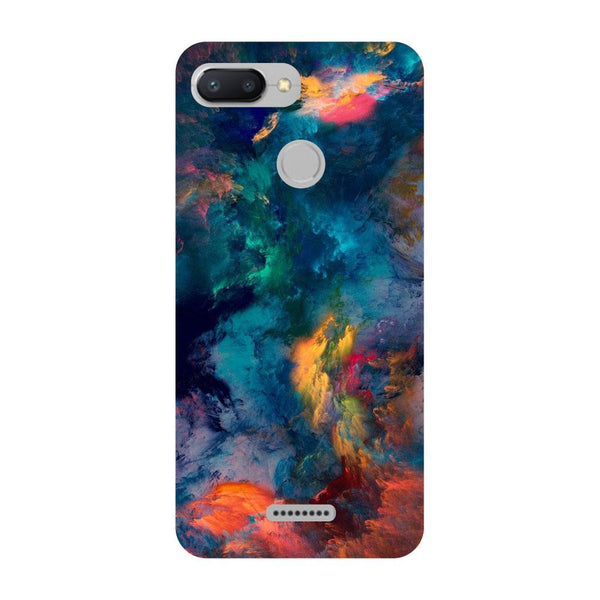 Abstract Fumes Redmi 6 Back Cover-Hamee India