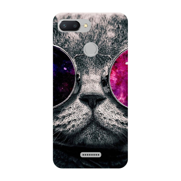 Cool Cat Redmi 6 Back Cover-Hamee India