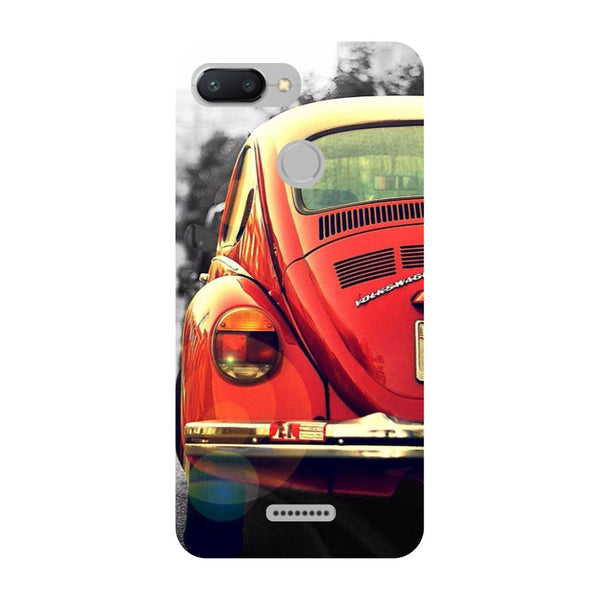 Vintage Car Redmi 6 Back Cover-Hamee India