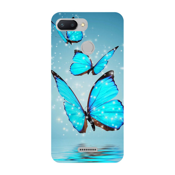 Butterflies Redmi 6 Back Cover-Hamee India