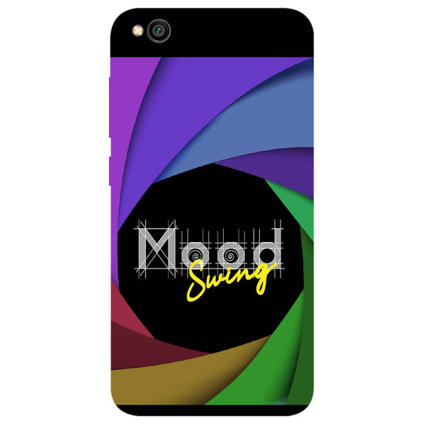 Mood Swing Redmi Go Back Cover-Hamee India