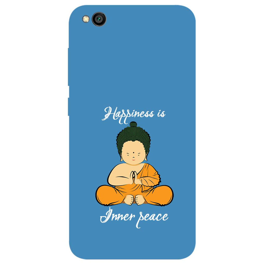 Inner Peace Redmi Go Back Cover-Hamee India