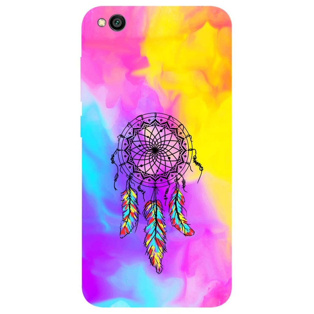 Dreamer Mist Redmi Go Back Cover-Hamee India