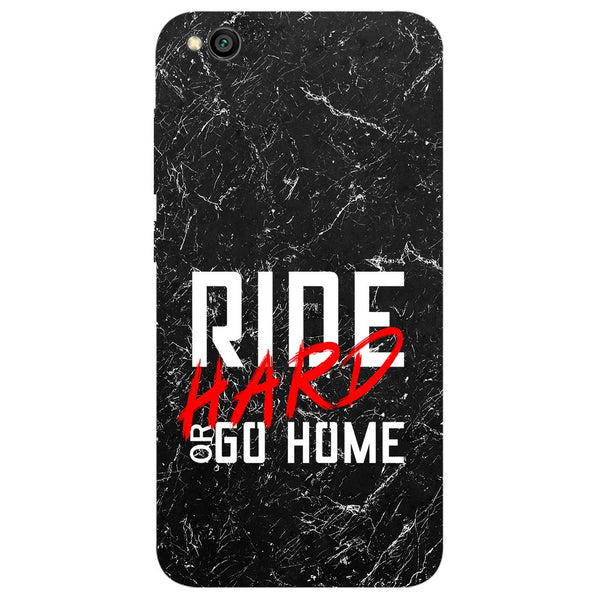 Ride Hard Redmi Go Back Cover-Hamee India