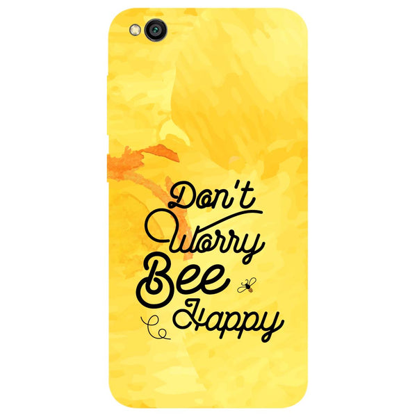 Bee Happy Redmi Go Back Cover-Hamee India