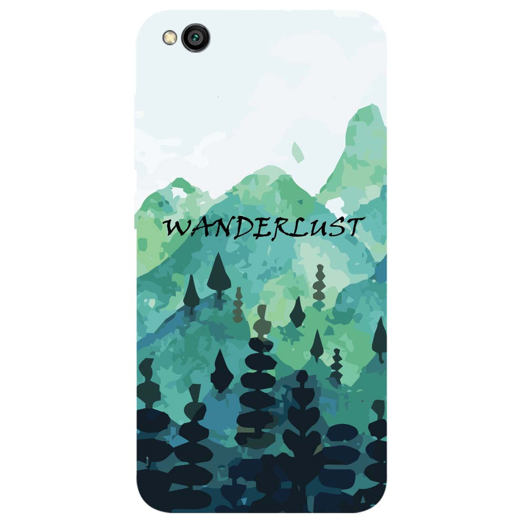 Wanderlust Redmi Go Back Cover-Hamee India