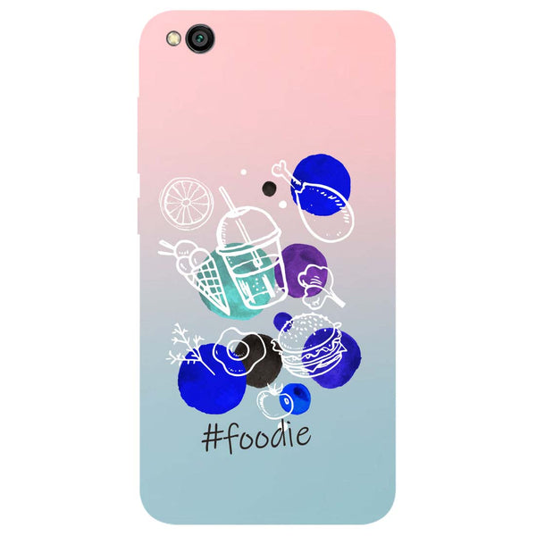 Foodie Redmi Go Back Cover-Hamee India