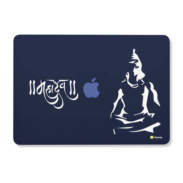 Mahadev Navy Blue Macbook Air 13 Retina (2018) Case-Hamee India