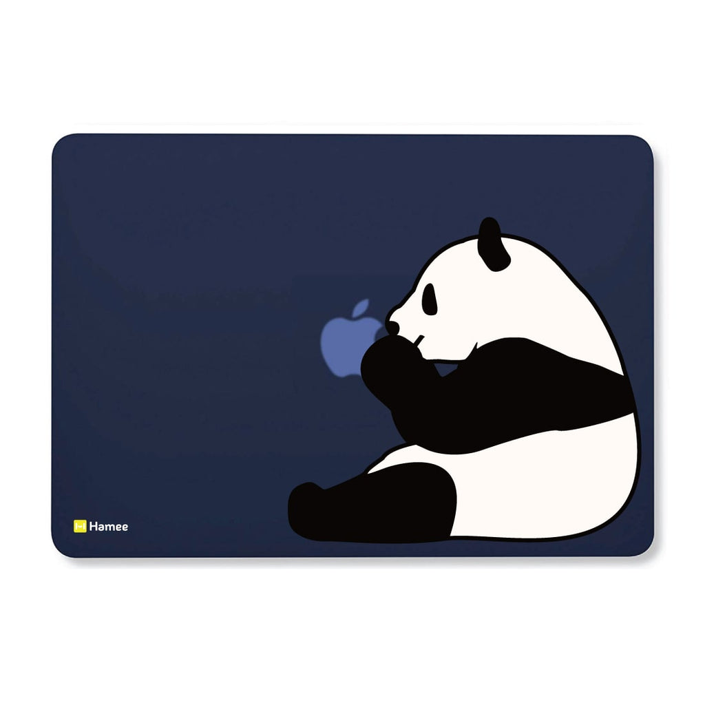 Panda Navy Blue Macbook Air 13 Retina (2018) Case-Hamee India