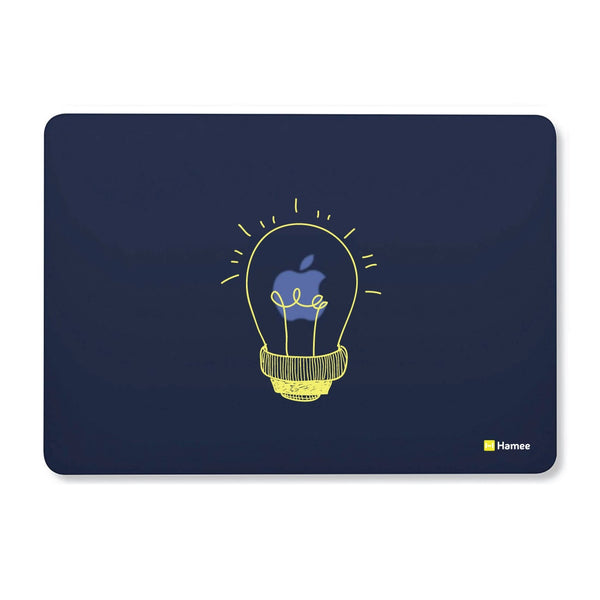 Bulb Navy Blue Macbook Air 13 Retina (2018) Case-Hamee India