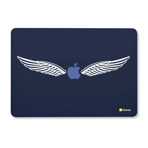 Wings Navy Blue Macbook Air 13 Retina (2018) Case-Hamee India