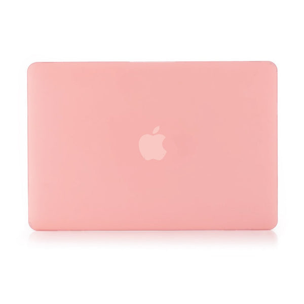 Plain Pastel Pink Macbook Air 13 Retina (2018) Case-Hamee India
