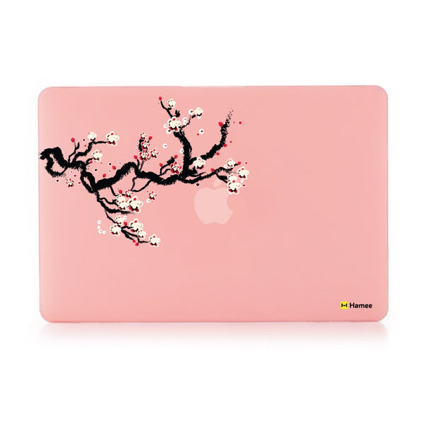 Branch Pastel Pink Macbook Air 13 Retina (2018) Case-Hamee India