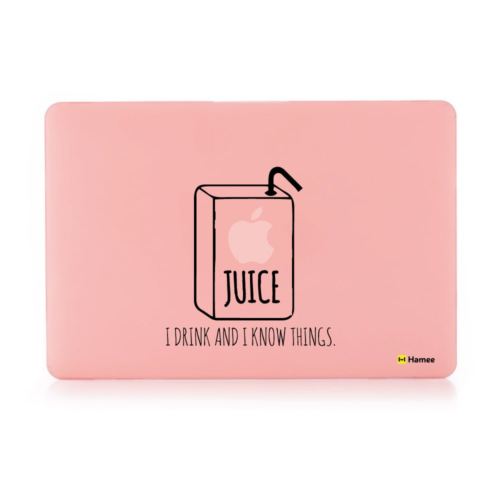 Juice Pastel Pink Macbook Air 13 Retina (2018) Case-Hamee India