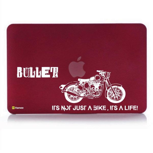 Bullet Wine Red Macbook Air 13 Retina (2018) Case-Hamee India