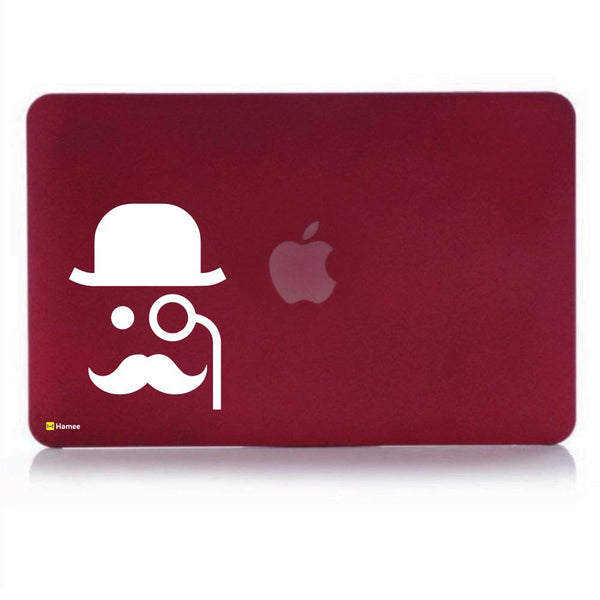 Man Wine Red Macbook Air 13 Retina (2018) Case-Hamee India
