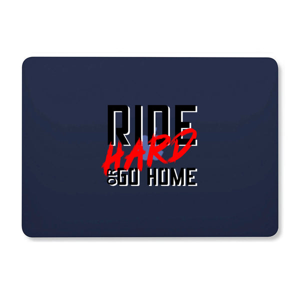 "Ride Hard Navy Blue MacBook Air 13"" Retina (2018) Cover-Hamee India"