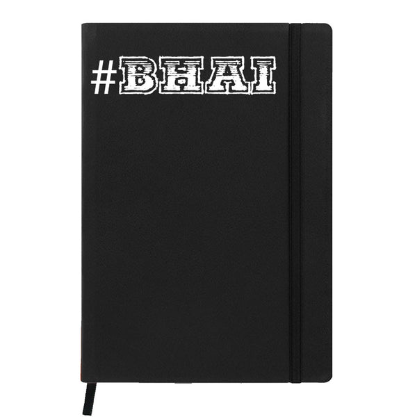 #Bhai - Black Notebook-Hamee India